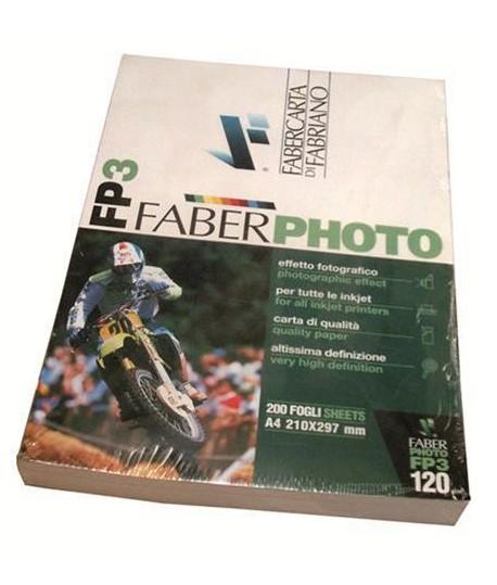 CARTA FABERPHOTO PATINATA 120G A4 200 FF