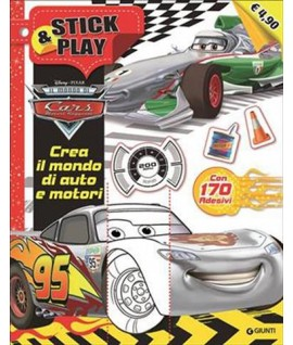 STICK&PLAY CARS GIUNTI DISNEY W02751