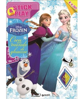 STICK&PLAY FROZEN GIUNTI DISNEY W02761