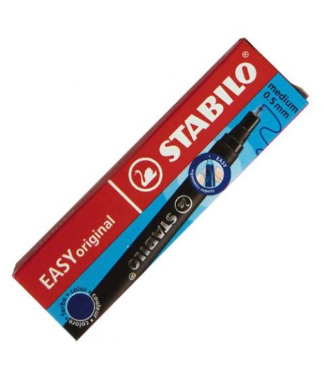 CARTUCCIA STABILO S'MOVE EASY BLU 3PZ