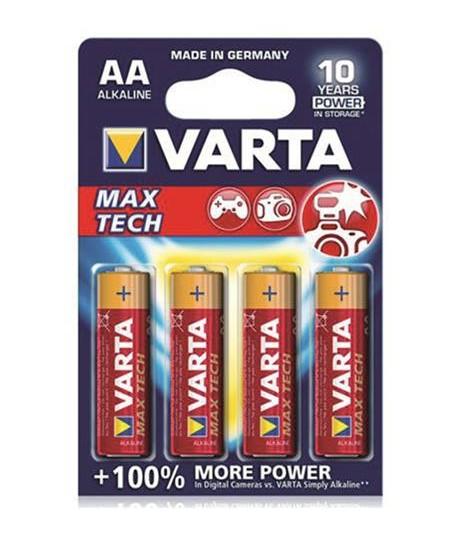 PILA VARTA MAX TECH AA STILO 1,5V 4PZ