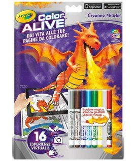 ALBUM CRAYOLA 1051 COLOR ALIVE CREATURE