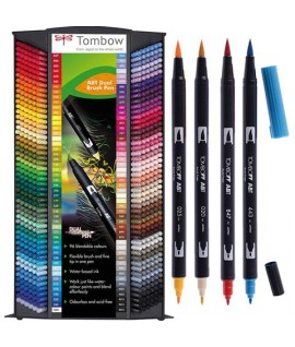 PENNARELLO TOMBOW DUAL BRUSH-PEN ABT COL