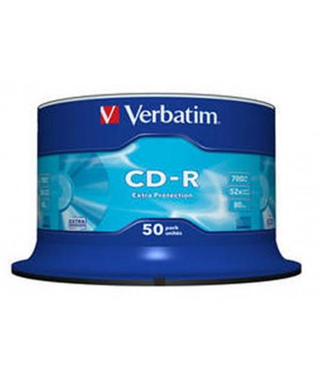 CD-R VERBATIM 700 MB (80 MIN) 50PZ