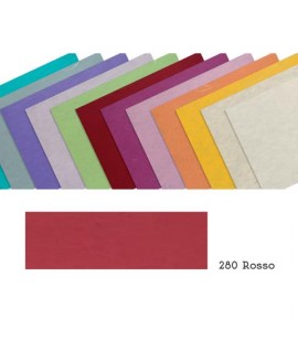 CARTA GELSO 25G 70*100 ROSSO 280 10FF