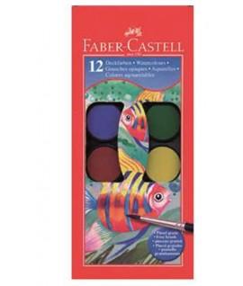ACQUERELLI FABER-CASTELL 125012 12C