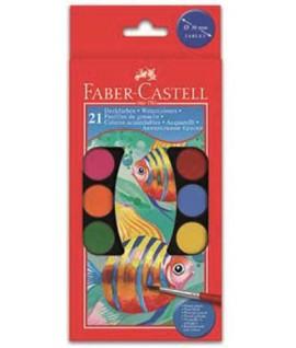 ACQUERELLI FABER-CASTELL 125021 21C