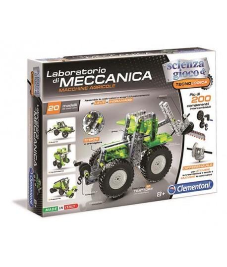 Laboratorio di meccanica macchine agricole Clementoni 13954 scienza e gioco