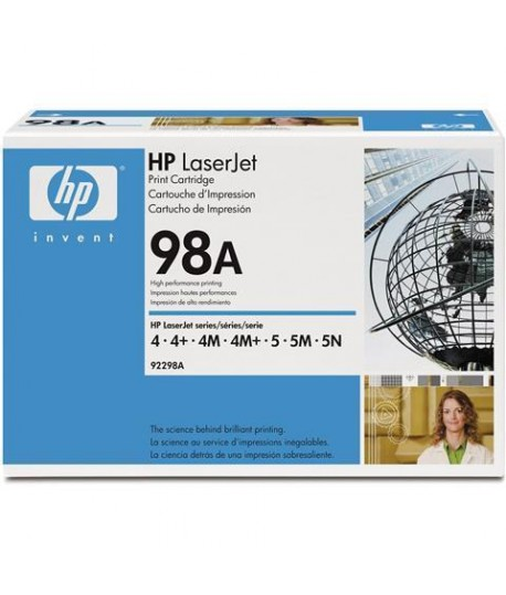 TONER LASER HP 92298A