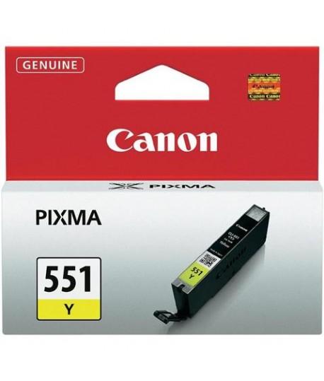 CARTUCCIA CANON CLI551 GIALLO 6511B001