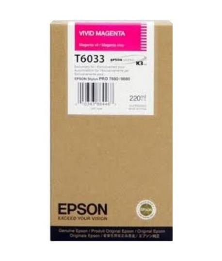 INKJET EPSON PRO 7800 220ML MAGENTA