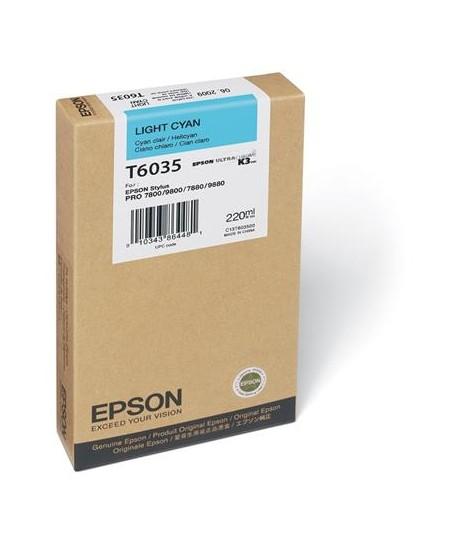 INKJET EPSON PRO 7800 220ML CIANO CHIARO