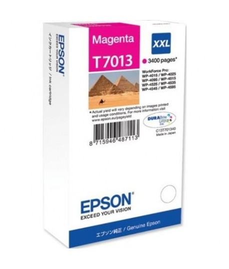 INKJET EPSON T701340 MAGENTA 3,4K