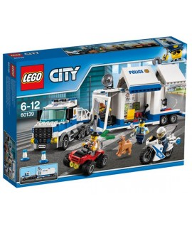 LEGO CITY 60139 CENTRO COMANDO MOBILE