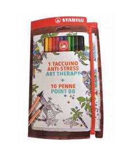 STABILO ART THERAPY 888 TACCUINO 8810