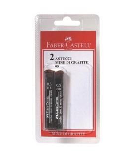 MINE 0,5MM FABER-CASTELL HB BL2*12PZ
