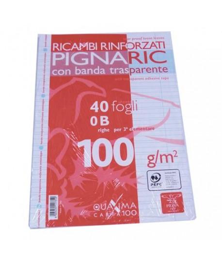 RICAMBIO A4 RINFORZATO 100 GR 40 FF B