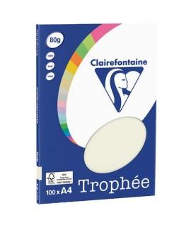 CARTA TROPHEE 80G A4 GRIGIO 4118 100FF