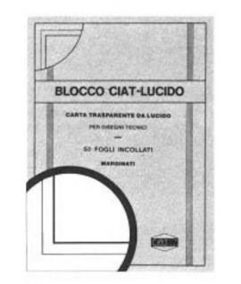 CARTA LUCIDA MARGINATA 85G 24*33 50FF