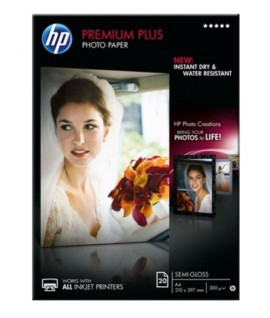 CARTA FOTOGRAFICA HP 300G A4 SATIN 20FF