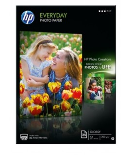 CARTA FOTO HP Q5451A 200G A4 GLOSSY 25FF