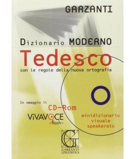 DIZIONARIO GARZANTI TEDESCO MODERNO+CD