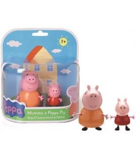 PREZIOSI CCP1471 PEPPA PIG+MAMMA PIG