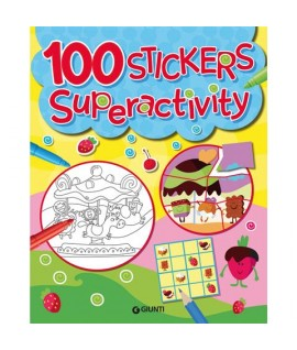100 STICKERS SUPER ACTIVITY GIUNTI 75328