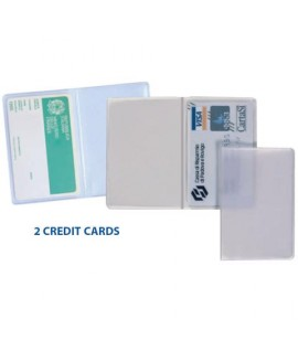 PORTACREDIT CARD SVAR 9,5X12,4 TRASP 25P