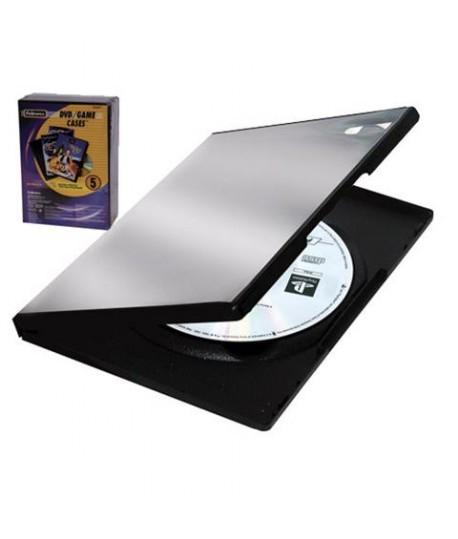 CUSTODIA FELLOWES 83357 SINGOLA DVD 5PZ