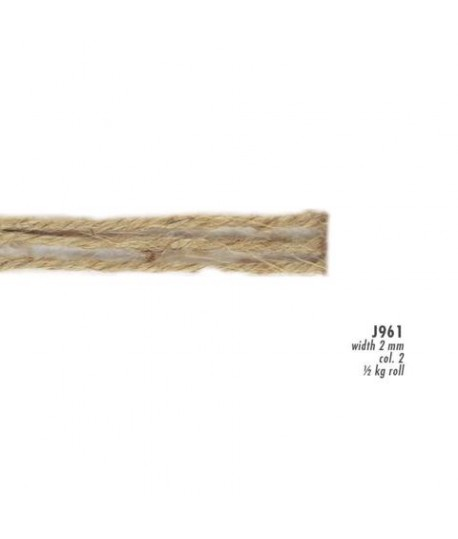 CORDONCINO JUTA MM2 J961.41 ARANC. 500GR