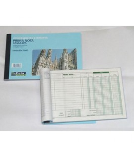 BLOCCO PRIMA NOTA CASSA IVA A5 DU1665C00