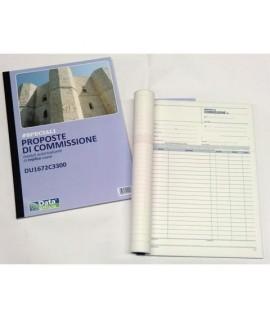 BLOCCO PROP. COMMISSIONE 3C A4 DU1672C33