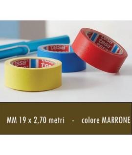 ADESIVO TELATO TESA H19 X 2,7MT MARRONE