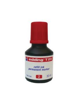 INCHIOSTRO MARCAT. EDDING T25 ROSSO 25ML