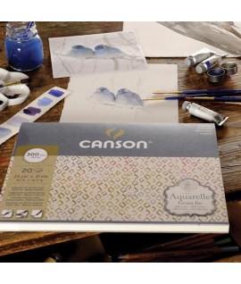 ALBUM CANSON ACQUERELLE 36*50 300G 20FF