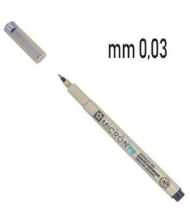 PENNARELLO PIGMA MICRON 0,03 NERO 12PZ
