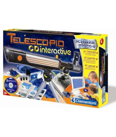 CLEMENTONI 12710 TELESCOPIO CD-INTERATT