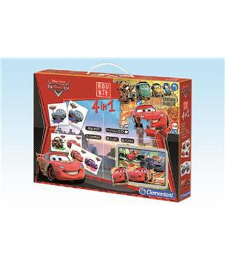 CLEMENTONI 13779 EDUKIT 4 IN 1 CARS 2