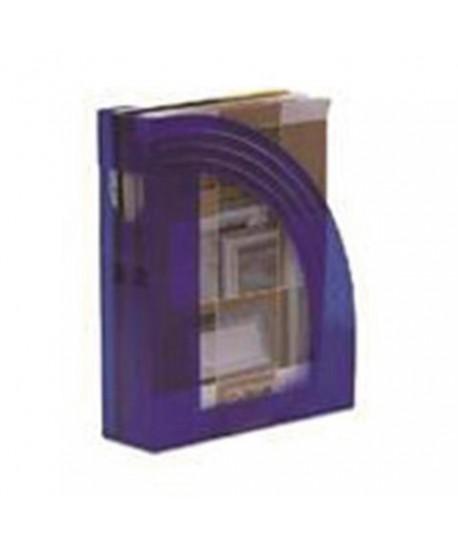 PORTARIVISTE FELLOWES E803 TRASP. BLU