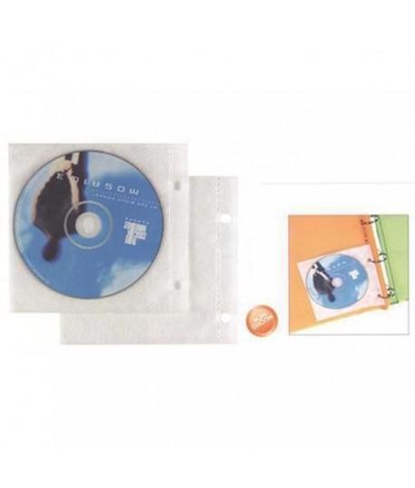 BUSTA FORATA PER CD-DVD ATLA CD-1 25PZ