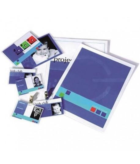 POUCHES PLASTIF 80MY MM216*303 A4 100PZ