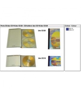 ALBUM PORTACD SEI UNO-CD 10PS