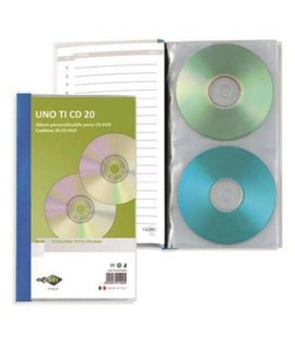 ALBUM PORTACD SEI UNO-CD 20PS