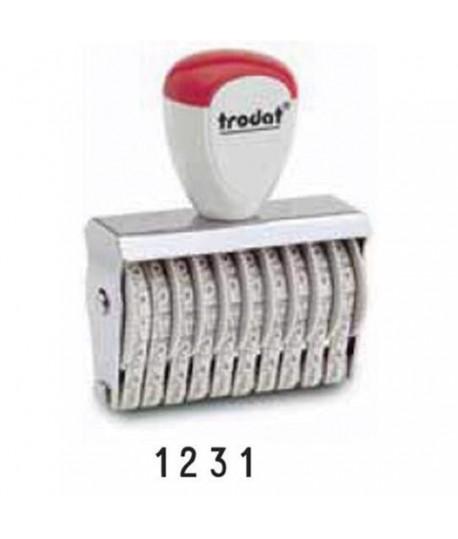 NUMERATORE TRODAT 1554 4 COLONNE 5MM