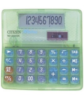 CALCOLATRICE CITIZEN ND-2000 DISPLAY 10C