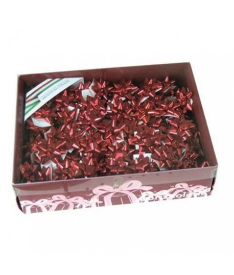 FIOCCO BR3070 10MM ROSSO NATALE 100PZ