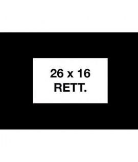 ETICH PREZ 26*16 REMOV.BIANCO RETT 36RT