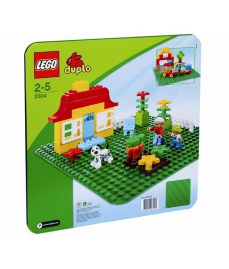 LEGO 2304 BASE VERDE DUPLO CM 38X38