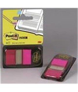 POST-IT INDEX 3M 680-21 ROSA CF.50PZ
